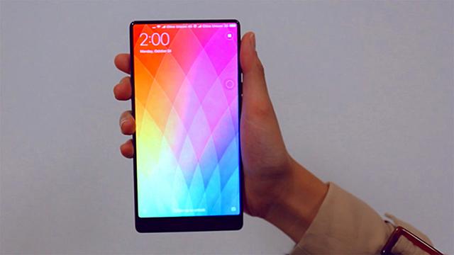 danh gia dien thoai xiaomi mi mix 6 1 - Xiaomi Mi Mix: Smartphone cao cấp không viền màn hình