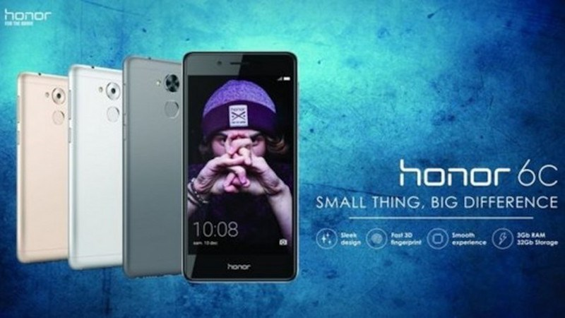 huawei honor 6c 1 - Điện thoại Huawei Honor 6c màn hình 5 inch, RAM 3GB