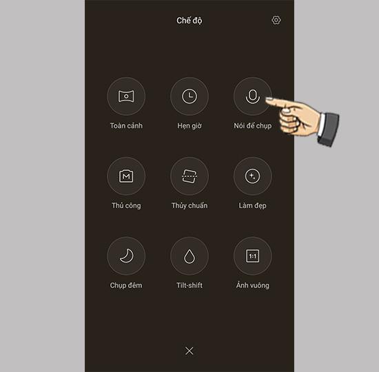 chup hinh bang giong noi tren xiaomi mi 5 3 1 - Hướng dẫn tùy chỉnh chụp hình bằng giọng nói trên Xiaomi Mi 5