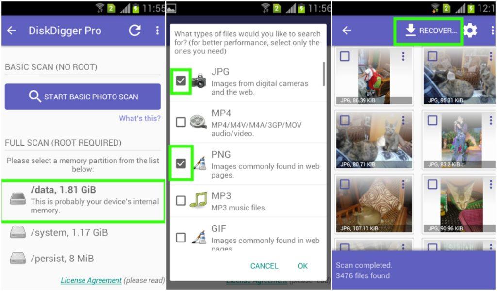 khoi phuc hinh anh da xoa tren android 4 1024x600 - Khôi phục hình ảnh, video đã xóa trên điện thoại Android