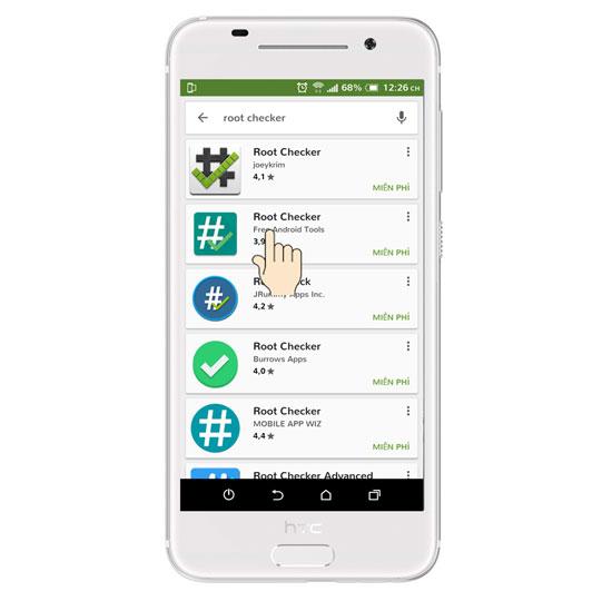 kiem tra root android 5 1 - Hướng dẫn kiểm tra thiết bị Android đã Root hay chưa?