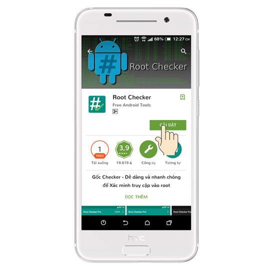 kiem tra root android 6 1 - Hướng dẫn kiểm tra thiết bị Android đã Root hay chưa?
