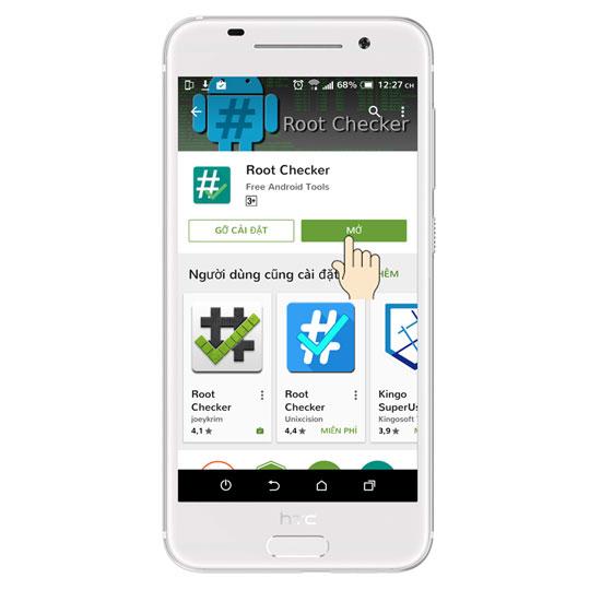kiem tra root android 7 1 - Hướng dẫn kiểm tra thiết bị Android đã Root hay chưa?