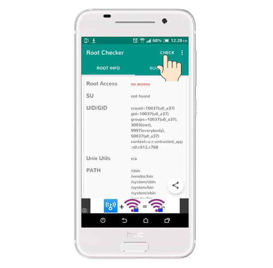 kiem tra root android 8 1 - Hướng dẫn kiểm tra thiết bị Android đã Root hay chưa?
