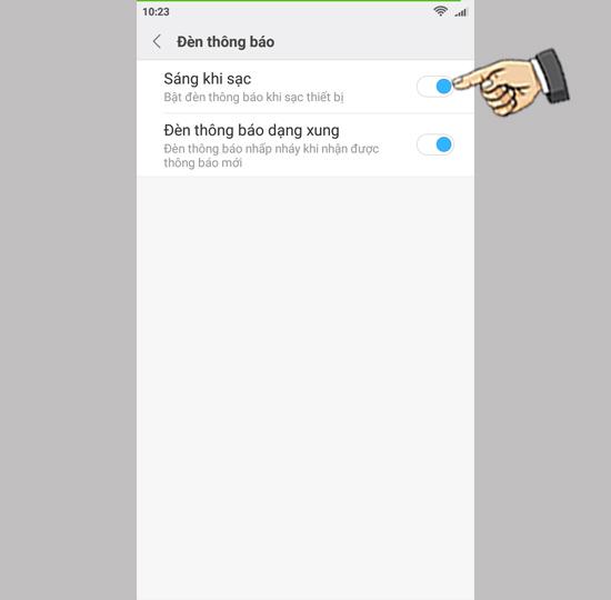 mo den led xiaomi redmi 4x 4 1 - Hướng dẫn mở đèn LED thông báo trên điện thoại Xiaomi Redmi 4X