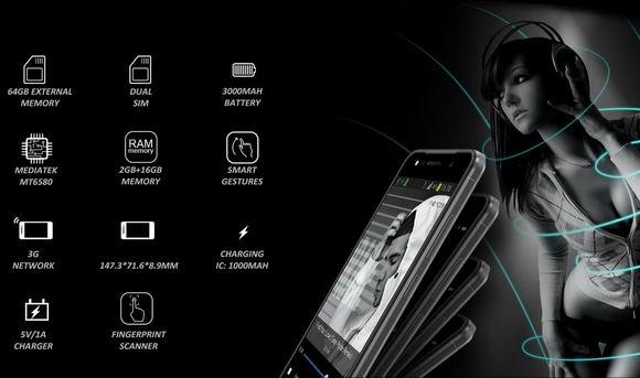 dien thoai homtom ht37 4 1 - Homtom HT37: Smartphone giá rẻ trang bị chip âm thanh ấn tượng