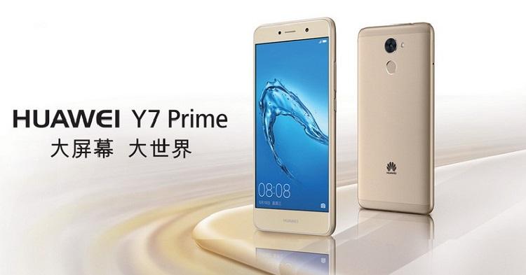 dien thoai huawei y7 prime 3 1 - Điện thoại Huawei Y7 Prime màn hình 5.5 inch, RAM 3 GB