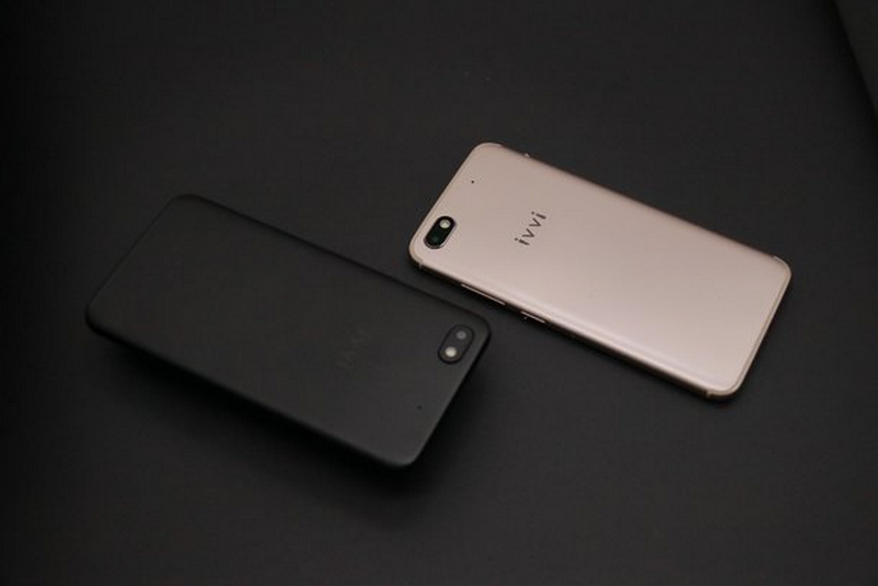 dien thoai ivvi v3 4 1 - Điện thoại Ivvi V3: Smartphone màn hình tràn cạnh, RAM 3GB