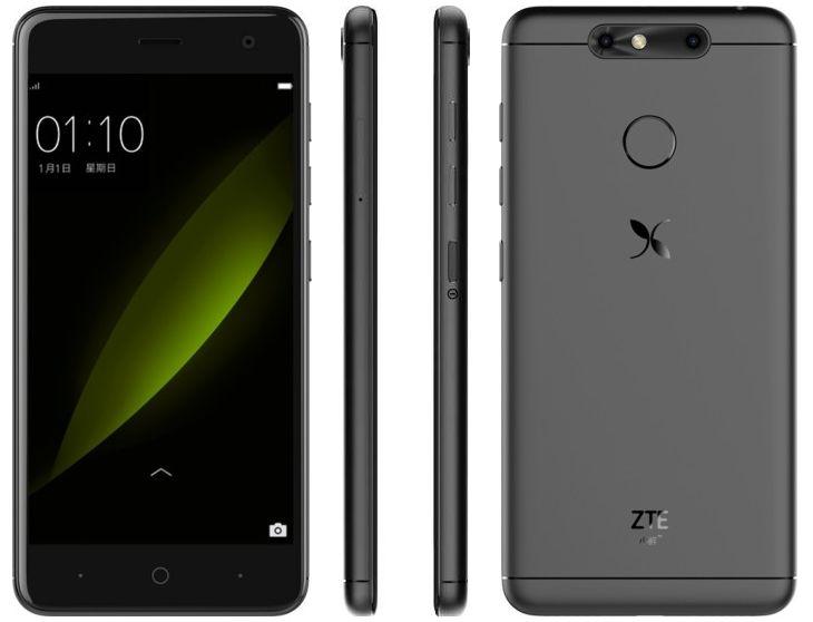 dien thoai zte small fresh 5 5 1 - Điện thoại ZTE Small Fresh 5 trang bị camera kép, RAM 4GB