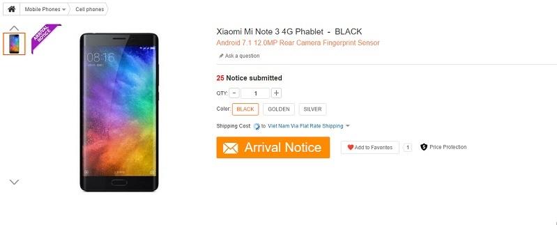 minote3render 799x323 1 - Điện thoại Xiaomi Mi Note 3 màn hình 2K, cấu hình mạnh mẽ