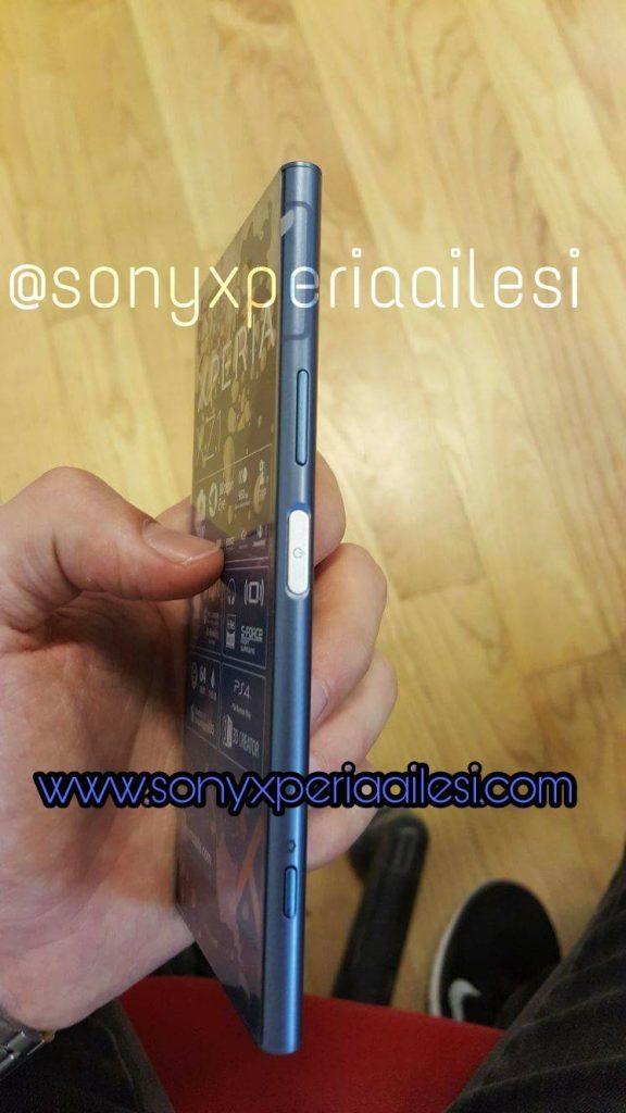 dien thoai xperia xz1 3 1 576x1024 - Điện thoại Xperia XZ1 lộ diện hình ảnh trên tay người dùng