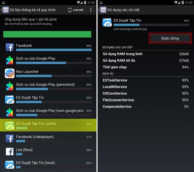 lam sao de tat ung dung chay ngam tren android 4 1 - Làm sao để tắt ứng dụng chạy ngầm trên điện thoại android