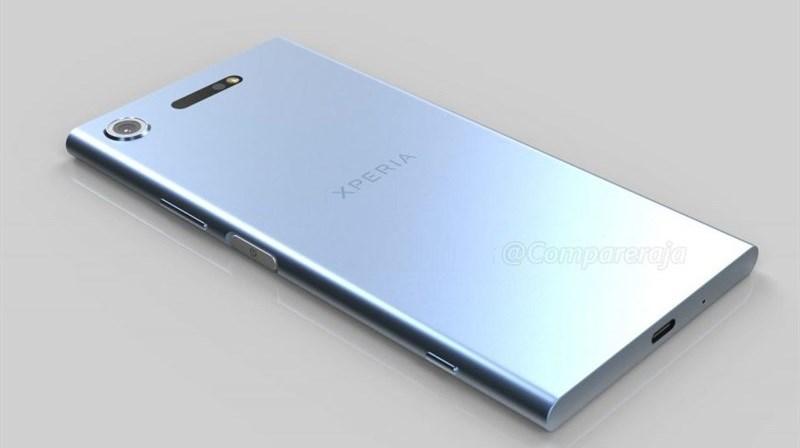 xperia 1 - Điện thoại Xperia XZ1 lộ diện hình ảnh trên tay người dùng