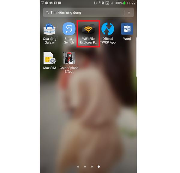 cach chuyen du lieu tu may tinh sang dien thoai android bang wifi 2 1 - Cách chuyển dữ liệu từ máy tính sang điện thoại Android bằng wifi