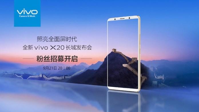 dien thoai vivo x20 1 - Điện thoại Vivo X20 RAM 6GB, camera kép 24MP