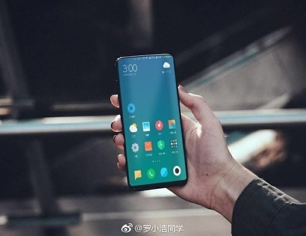 dien thoai xiaomi mi mix 2 1 - Điện thoại Xiaomi Mi Mix 2 lộ hình ảnh trên tay người dùng