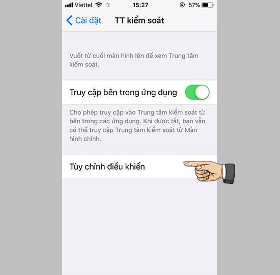 huong dan quay man hinh iphone tren ios 11 2 1 - Hướng dẫn quay màn hình iPhone trên iOS 11