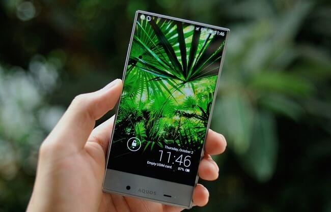 danh gia dien thoai sharp aquos crystal 305sh 5 1 - Đánh giá điện thoại Sharp Aquos Crystal 305SH