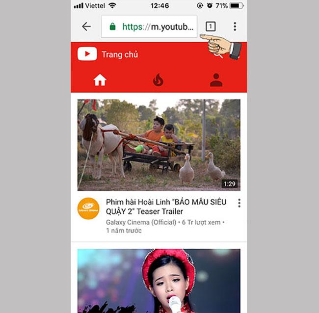 cach nghe youtube khi tat man hinh iphone 02 1 - Nghe nhạc Youtube không cần mở màn hình cho Android và IOS