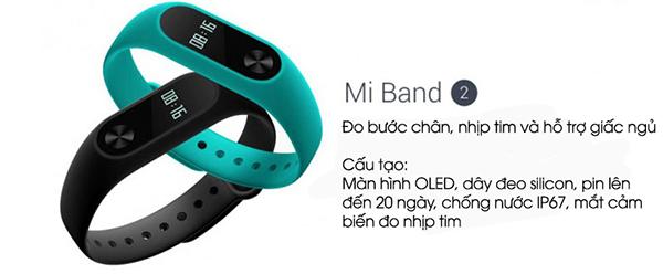 xiaomi mi band 2 nen mua vong tay thong minh nao 1 - Nên mua vòng tay thông minh nào với giá rẻ, chất lượng tốt?