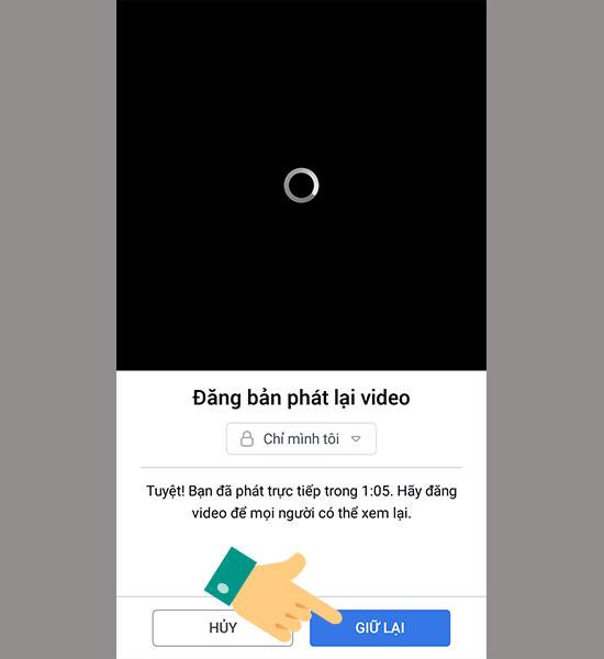 cach live stream facebook tren dien thoai 11 1 - Cách livestream facebook bằng điện thoại