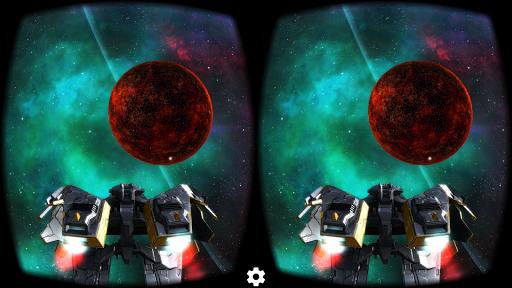 deep space battle 1 - Các dòng game hay cho kính thực tế ảo