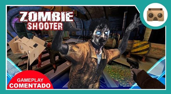 zombie shooter vr 1 - Các dòng game hay cho kính thực tế ảo