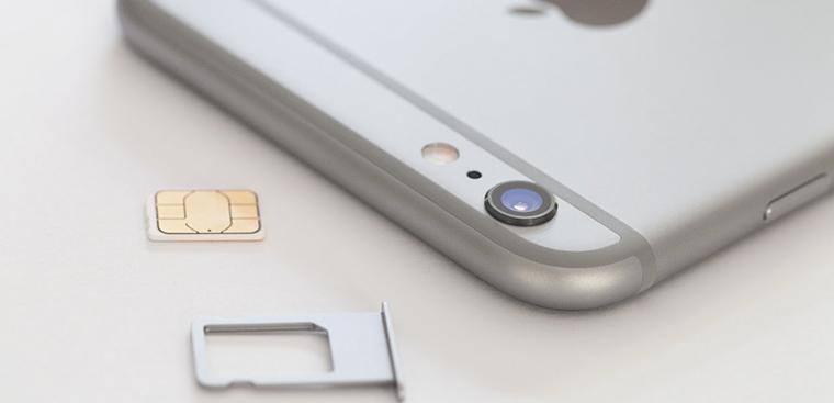 dien thoai iphone khong nhan sim 3 1 - Những lý do khiến iPhone không nhận sim