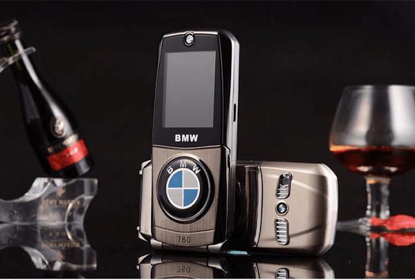 Danh gia dien thoai BMW 760 5 1 - Đánh giá điện thoại BMW 760: Thiết kế nắp gập độc đáo