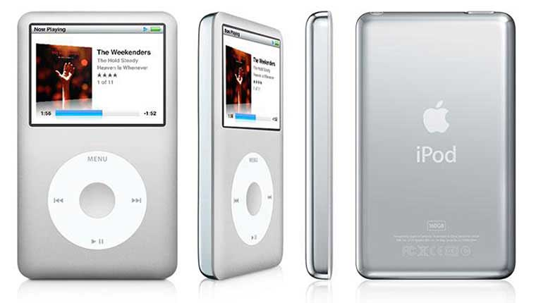 May nghe nhac Apple iPod Classic 1 1 - Nên chọn mua máy nghe nhạc Ipod nào của Apple?
