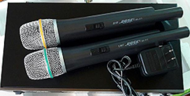 micro bose 1 - Kinh nghiệm chọn mua micro không dây bose