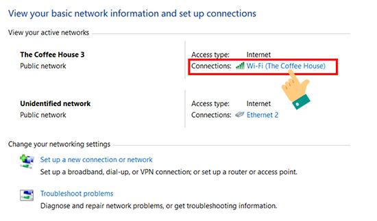 lam sao xem mat khau wifi tren may tinh timrim 4 1 - Làm thế nào để biết mật khẩu wifi được lưu trên máy tính