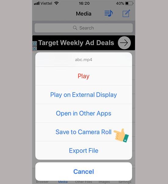 lam sao de tai video tren facebook ve iphone timrim 7 1 - Làm sao để tải video trên facebook về iPhone của bạn