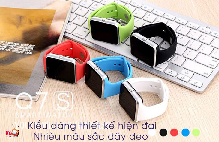q7s 1 - Đồng hồ thông minh SmartWatch Q7S chính hãng giá rẻ