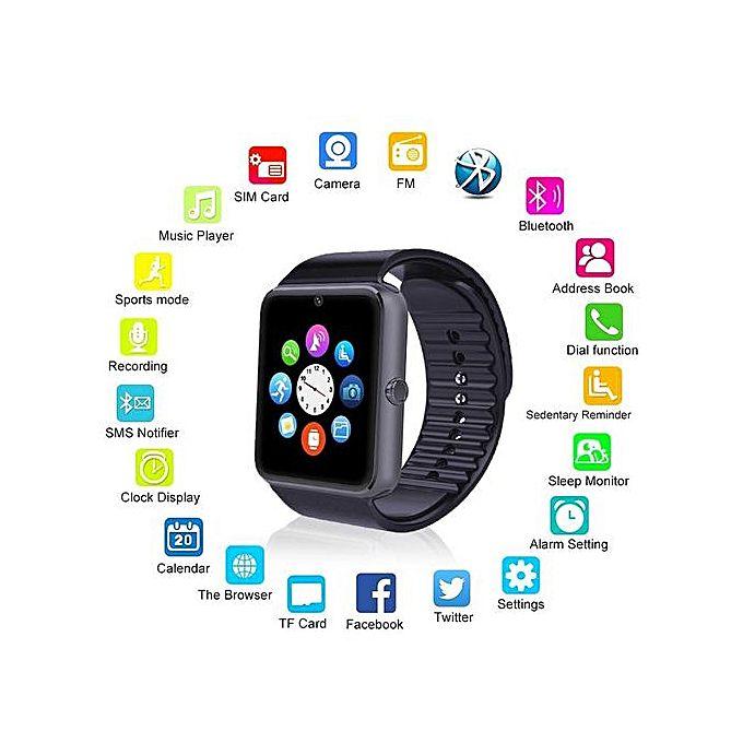 smartwatch gt 08 2 1 - SmartWatch GT08 giá rẻ, chất lượng tốt