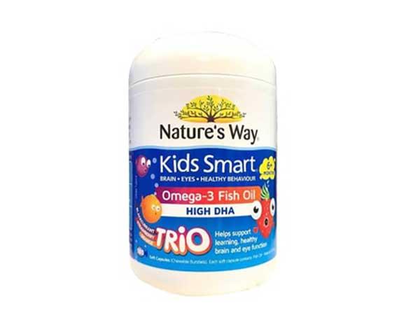 Kids Smart Omega 3 - Đánh giá dầu cá Kids Smart Omega 3 Fish Oil có tốt không?