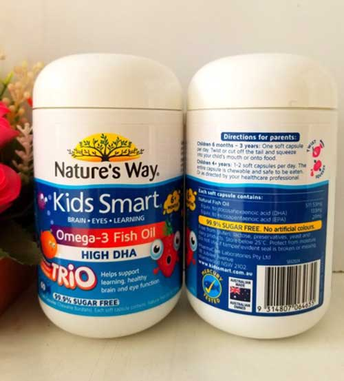 danh gia Kids Smart Omega 3 - Đánh giá dầu cá Kids Smart Omega 3 Fish Oil có tốt không?