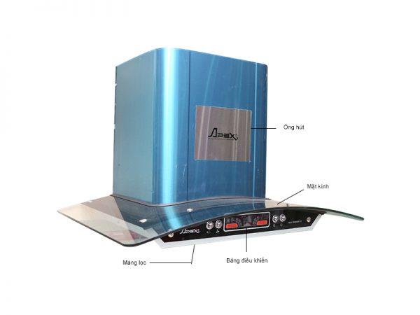 danh gia may hut mui kinh cong sunhouse apb 6601 1 e1586421666581 - Đánh giá máy hút mùi Sunhouse APB 6601 có tốt không?