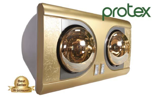 den suoi nha tam protex 3 - Đánh giá đèn sưởi nhà tắm Protex có tốt không?