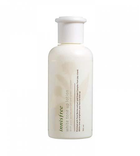 sua duong trang innisfree white tone up lotion beauty garden - Đánh giá kem dưỡng trắng da Innisfree có tốt không?