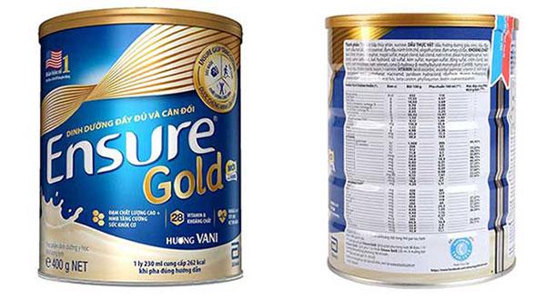 hop sua ensure - Đánh giá sữa Ensure Gold HMB của Abbott có tốt không?