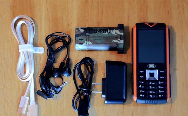 landrover xp3400 1 - Đánh giá điện thoại Land Rover XP 3400 có tốt không?