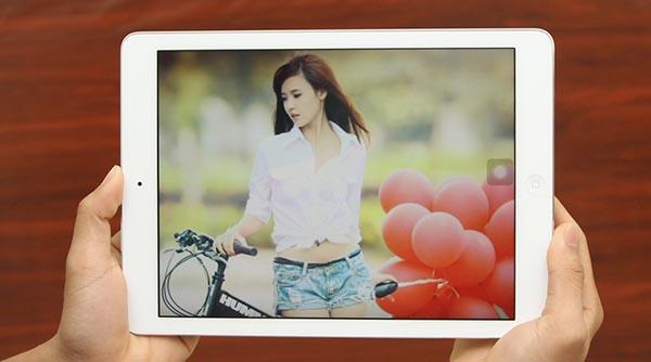 man hinh san pham ipad air 16gb - Đánh giá iPad Air 16GB 4G có tốt không?