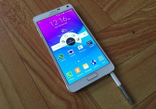 samsung galaxy note 4 32gb han quoc man hinh - Đánh giá Samsung Galaxy Note 4 32GB Hàn Quốc có tốt không?