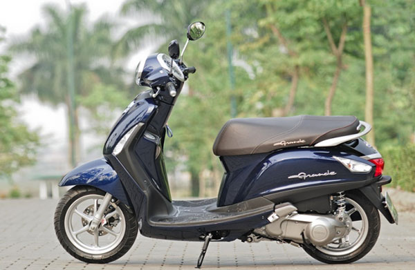 Yamaha Nozza Grande xe ga danh cho nu - Trang chủ