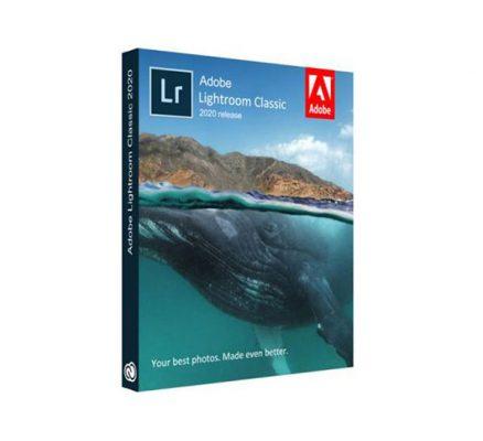 phần mềm Adobe Lightroom Classic 2020